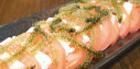 島豆腐とトマトのサラダ海ぶどう添え